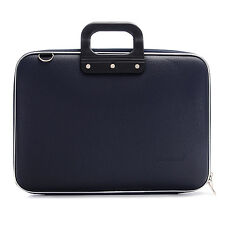"Bombata - Navy Blue Classic 15"" Laptop Case/Bag with Shoulder Strap"