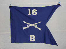 flag391 WW2 US Army Guide on 16th  Infantry Regiment 1st Division Company B