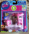 Littlest Pet Shop Bobble in Style Mommy Poodle #3599 & Baby Poodle #3600, New