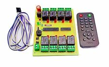 INSIGNIA LABS - IR 8 CHANNEL REMOTE CONTROL RELAY BOARD MODULE LIGHT/FAN CONTROL