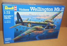 REVELL VICKERS WELLINGTON MK.II 1:72 SCALE BRITISH BOMBER AIRCRAFT WW2 MODEL KIT