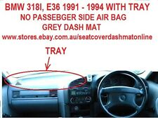 DASH MAT,GREY DASHMAT  FIT BMW 318I,320I,325I 91-95,WITH TRAY PASSENGER SIDE