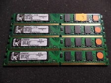 KINGSTON KVR800D2N6/2G PC6400 DDR2 RAM 8GB ( 4x 2GB ) #R2516
