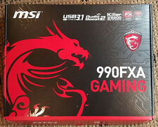 New MSI AMD 990FXA Gaming AM3+/AM3 SB950 SATA3 USB 3.1 CrossFire ATX Motherboard