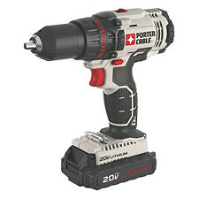 Porter-Cable PCC601LA 20V 1.3 Ah 1/2.In Cordless Lithium-Ion Drill Driver