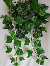 ARTIFICIAL TRAILING IVY BUSH GREEN LEAVES IDEAL HANGING BASKETS INDOOR/OUTDOOR
