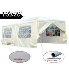 New Kit 10'x20' Wedding Party Tent Canopy Carport Car Shelter Event 4 Sidewall