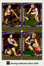 2011 AFL Teamcoach Trading Cards Gold Parallel Team Set Fremantle (11)