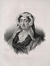 Adélaïde-Gillette Dufrénoy France dichertin révolution française paris peintre