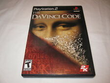 The DaVinci Code (Playstation PS2) Black Label Original Release Complete LN Mint
