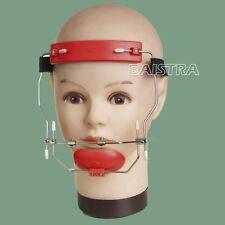 hot Orthodontic Dental  Reverse-Pull Headgear adjustable Red color