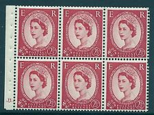 SB80 Wilding booklet pane Tudor Crown perf type Ie cyl J1 Dot UNMOUNTED MNT