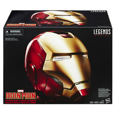 Casco IRON MAN Elettronico Helmet Scala 1:1 HASBRO Legends MARVEL ORIGINALE