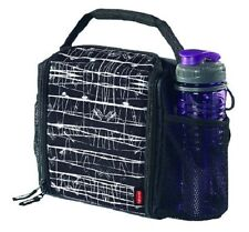 Insulated Lunch Bag with Bottle Holder Cooler Container Lunchbox Tote travel NEW