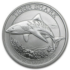 2016 Australia 1/2 oz Silver Tiger Shark BU - SKU #96651