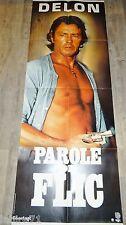 alain delon PAROLE DE FLIC !  affiche cinema model rare