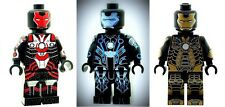 Custom Minifigure 3x Ironman Bones Mark 41 Stealth Printed on LEGO Parts