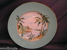 LENOX CHINA  USA BRITISH COLONIAL COLLECTION TRADEWINDS PLATE LUNCH LUNCHEON