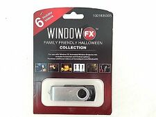 2 in. WindowFX Halloween Classics Collection USB with 6 videos. Model # 75605