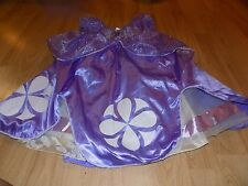 Size 7-8 Disney Store Sofia the First Princess Halloween Costume Dress Sophia N