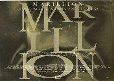 1/6/91 Pgn14 Advert: Marillion cover My Eyes (pain And Heaven) On Emi 7x11