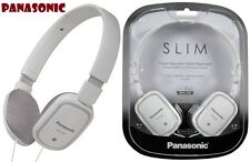 Panasonic RP-HX40 WHITE Ultra Light On Ear Headphones for Ipod / MP3 - Brand New