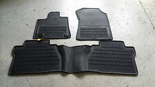 NEW OEM 2014-2015 & UP TOYOTA TUNDRA ALL WEATHER MATS 3-PIECE SET