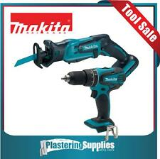 Makita LXT Cordless LXPH01 Drill & XRJ01 Compact Recipro Saw SKINS ONLY