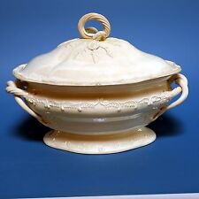 Deckel-Terrine, Tureen and cover, Creamware, England, Leeds Pottery, ca. 1800