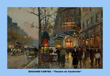 EDOUARD CORTES Parisian painter ELEVEN (11)  copies of his masterpieces