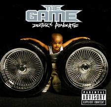 The Game DOCTOR'S ADVOCATE (Retail Promo CD, Album) Uncensored (2006)