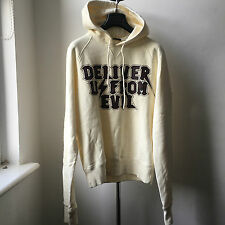Very Cool Dsquared2 thick sweat hoodie slight elongated sleeve Sz S Made Italy
