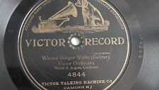 Walter B. Rogers – 78rpm 10-inch single – Victor #4844