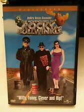000 The Adventures of Rocky and Bullwinkle (DVD, 2001) Deniro Russo Alexander