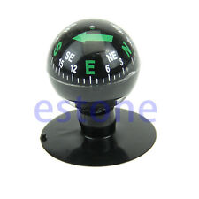 Navigation Compass Ball Mini Flexible Dashboard Suction Cup Car Boat Vehicle
