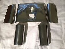 HARLEY UPPER SHROUDS FORK TRIM NACELLE COW BELLS SET