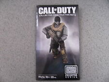 New Mega Bloks Call of Duty Exclusive ghosts figure NEW AND SEALED RARE SET 2013