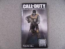 Nuevo Mega Bloks Call of Duty Fantasmas Exclusivo Figura Nuevo Y Sellado Raro conjunto 2013