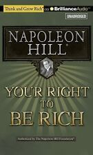 Your Right to Be Rich by Napoleon Hill (2014, MP3 CD, Unabridged)