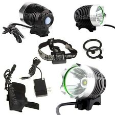 Bulb XM-L T6 SSC LED 3Mode Bike Head Light Lamp Torch P7 +4x 18650+Charger B0261