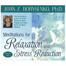 Meditations for Relaxation and Stress Reduction, Borysenko Ph.D., Joan, New Book