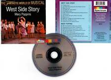 WEST SIDE STORY / MARY POPPINS (CD) Fantastic World of Musical 1993
