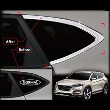 Chrome Window C Pillar Molding Trim For Hyundai All New Tucson 2016+ (Normal)