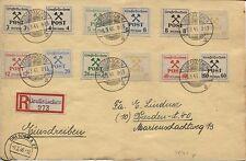 Lokal Großräschen 31-42 auf großer R-Karte nach Dresden (B03968)