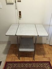 Vintage Formica Drop Leaf Table Chic Decorative Mid Century