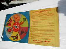 Vintage Part 1957 The Bobbsey Twins On The Farm Game Spinner ONLY Fair Condition