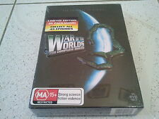 WAR OF THE WORLDS COMPLETE SERIES DVD COLLECTION LIMITED 3D PACKAGING BOXSET NEW