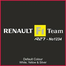 CLIO r27 197 SEAT RUNNER Decalcomanie x2, Adesivo, grafica, f1, sedili, Racing, n2202