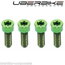 Uberbike Green Titanium Brake Lever Bolts MTB Ti kits Avid Hope Compatible