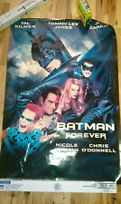 BATMAN FOREVER  MOVIE POSTER ORIGINAL DOUBLE SIDED 27X40